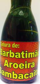 Aroeira Barbatimão E Sambacaitá (tintura Micoses De Pele)