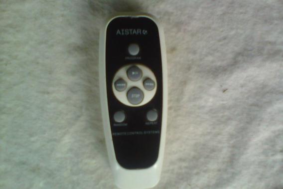 Controle Remoto Para Micro System Aistar Com Cd Rádio Am/fm