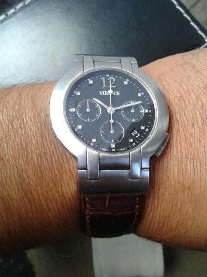 Reloj Versace Automatic Cronografo Omega Cartier Heuer