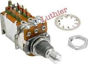 Potenciômetro 250k   Push/pull   Fender