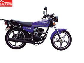 Moto Qingqi Qm150-7 Color Negra, Rojo, Azul Año 2016