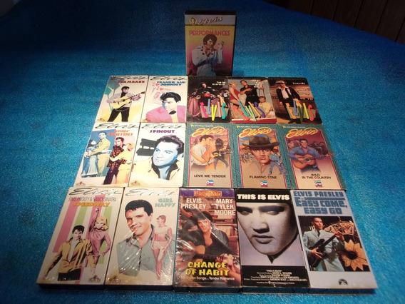 Elvis Presley - Vhs - 16 Videos Vhs - Idioma Ingles