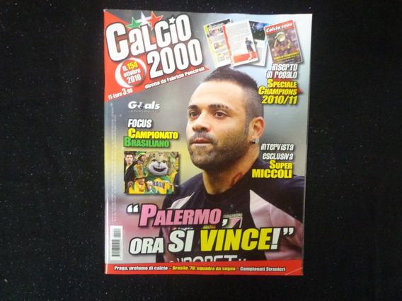 Revista Calcio 2000 - N° 154 Outubro 2010