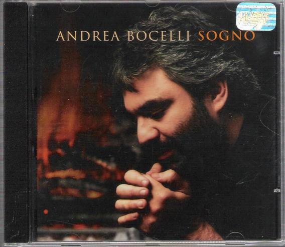 Cd Andrea Bocelli - Sogno (the Prayer , Com Celine Dion)