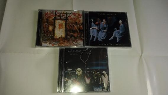 Black Sabbath - 3 Cds: Mob Rules, Live Evil, Heaven And Hell