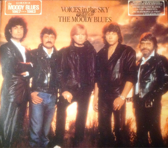 Lp The Moody Blues - Voices In The Sky. Nacional 1985