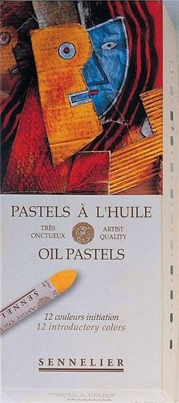 Oleo Pastel Sennelier Caja De 12