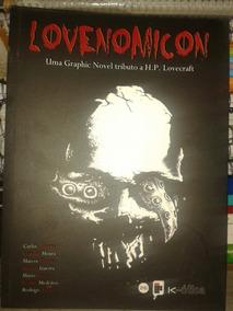 Hq Potiguar - Lovenonicon-graphic Novel Tributo Lovecraft