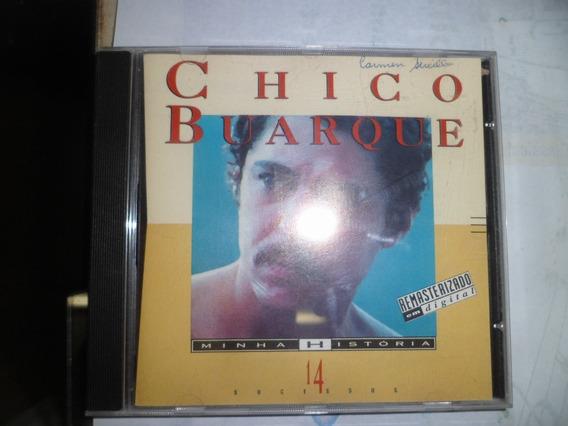 Cd Nacional - Chico Buarque - Minha História Frete 10,00