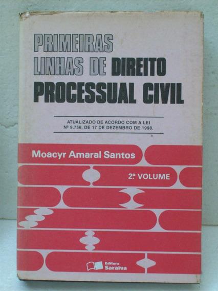 Livro Universitario Primeiras Linha Direito Processual Civil