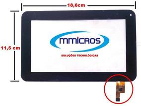 Tela Touch Multilaser Diamond Lite Nb042 7 Polegadas