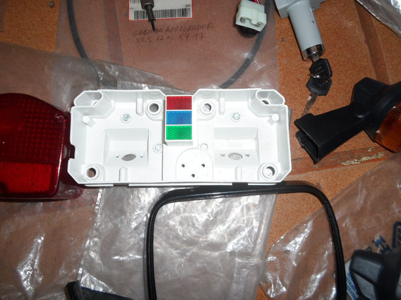 Carcaça Inferior Do Painel. Honda Cb 400/ 450 Mod Original