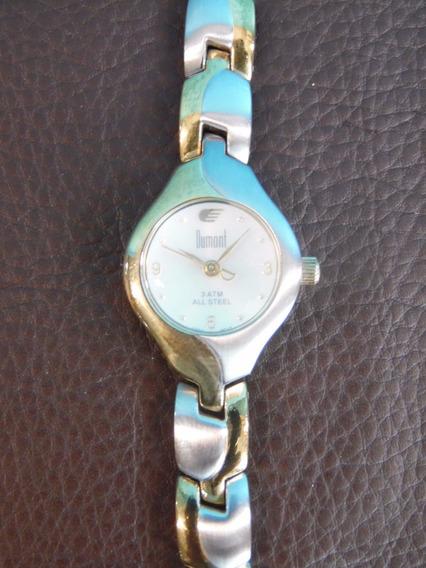 Relógio De Pulso - Dumont - 3 Atm - All Steel