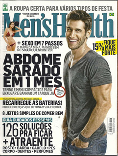 Revista Mens Health: Bryce Thompson / Fabio Porchat / Rhaisa