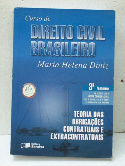 Livro Universitario Curso Direito Civil Brasileiro 3o Volume