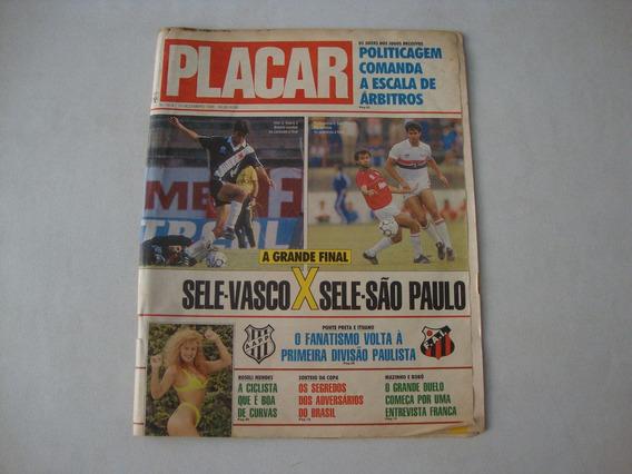 Revista Placar N. 1018 - Vasco X Sao Paulo 1989