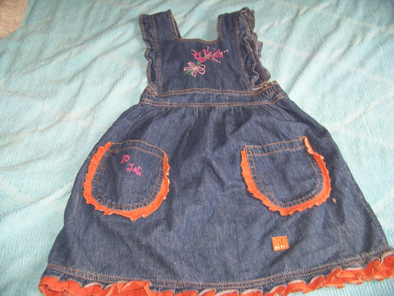 Vestido De Jean (314/220)
