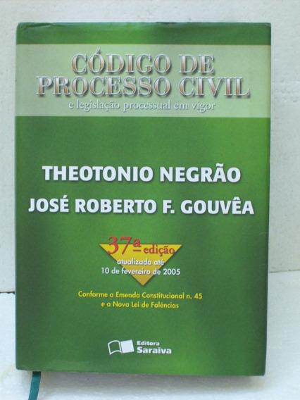 Livro Universitario Direito Codigo Processo Civil 37a Edição