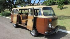 Vw Kombi Luxo 1983 Raridade Original Coleção Antiga Vw Bus