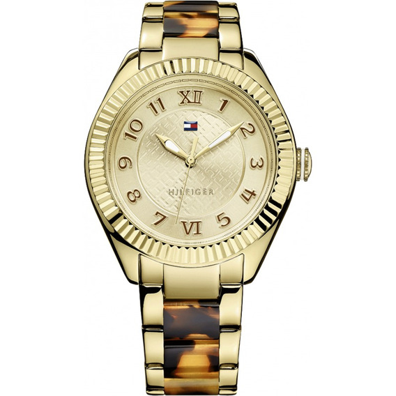 Relógio Tommy Hilfiger Th1781347 Orig Anal Gold Tortoise