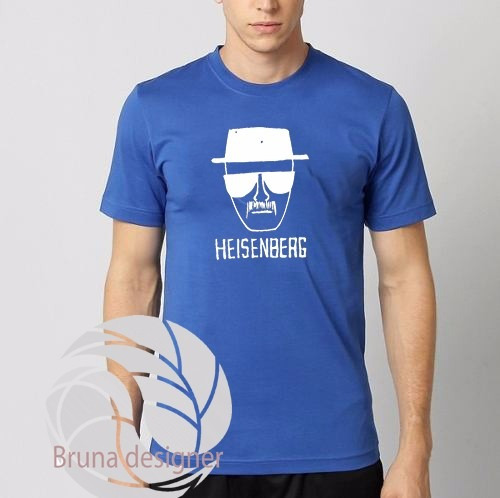 Camiseta Heisenberg - Breaking Bad - Otima Qualidade!