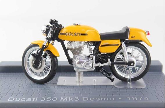 Ducati Desmo 350 Mk3 1974 - Escala 1:24 - Lacrado Na Caixa !