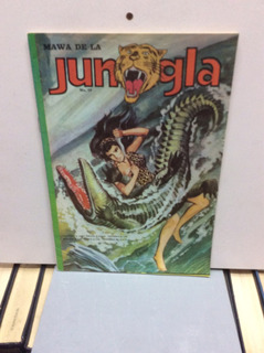 Jungla-número 19-cómic De Colección-aventura
