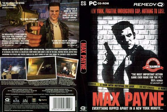 Jogo Max Payne 1+2 Em Português Pc