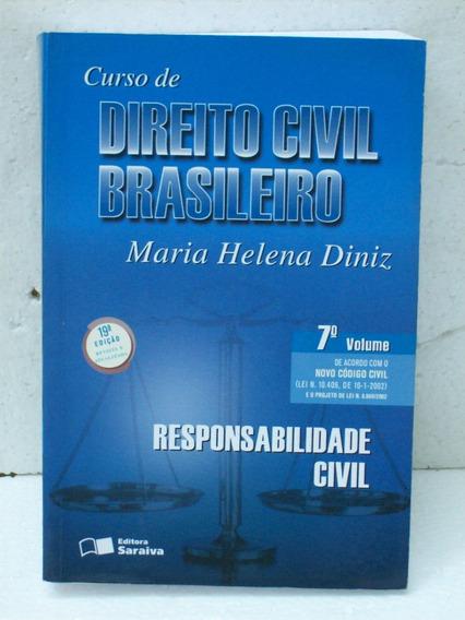 Livro Universitario Curso Direito Civil Brasileiro 7o Volume