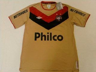 Camisa Atletico Paranaense Dourada Goleiro Of. Umbro 2011