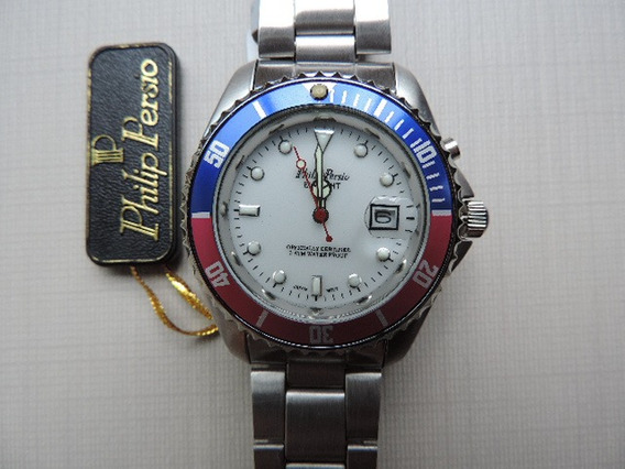 Relógio Philip Persio Masculino Importado Frete Grátis