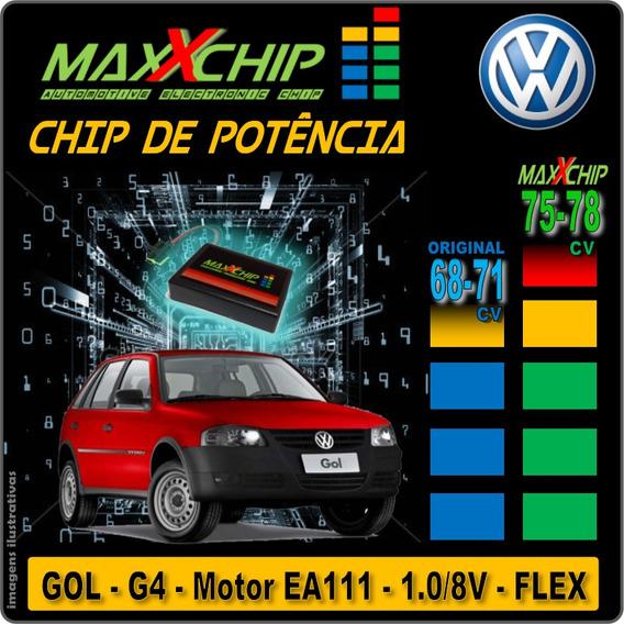 Chip De Potência Maxxchip - Vw Gol G4 - Motor 1.0 Flex