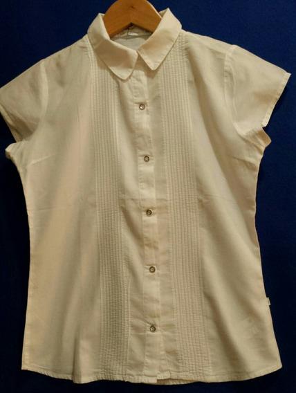 Camisa Blanca Como Quieres Que Te Quiera Impecable! !!!!!