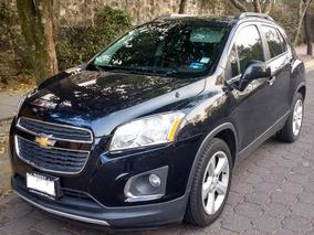 Chevrolet Trax Negra 2015 Ltz L4 1.8 Aut