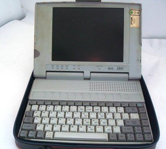5347 Atenção! Peça De Colecionador!! Laptop Librex Modelo N