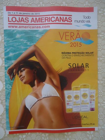 Grazi Massafera Capa Revista Anúnc Lojas Americanas Ano 2015