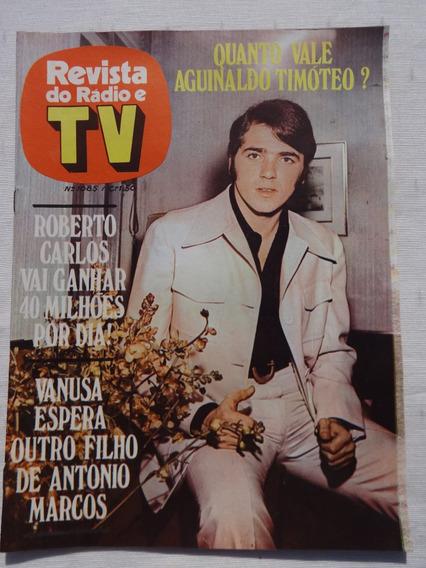 Revista Do Rádio E Tv Nº 1085: Roberto Carlos - Paulo Diniz