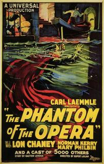 El Fantasma De La Opera Película Clasica Terror 1925 Blu Ray
