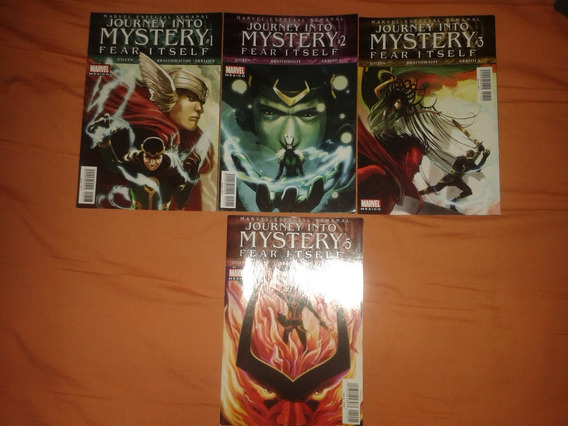Fear Itself Journey Into Mystery 1,2,3 Y 5 Precio X C/u
