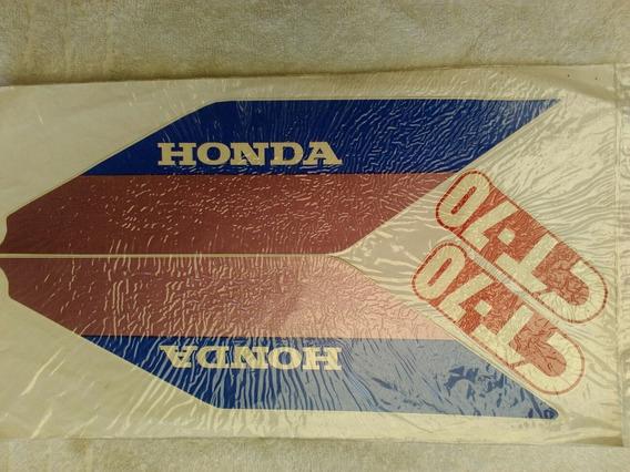 Honda Dax Ct 70 Calcos De Línea