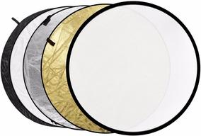 Rebatedor Fotográfico 5x1 110cm Circular Refletor E Difusor