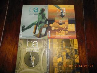 Lote 4 Revistas De Arte Museos