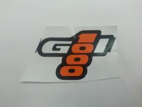 Emblema Adesivo Gol 1000 Laranja Ótima Qualidade