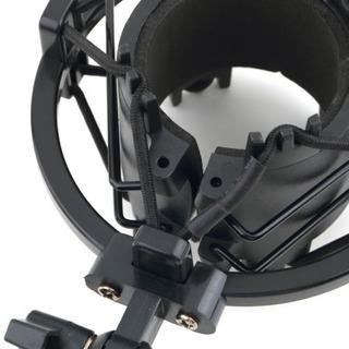Shockmount P Microfono Diametro 43mm A 50mm Para Caña Mn4