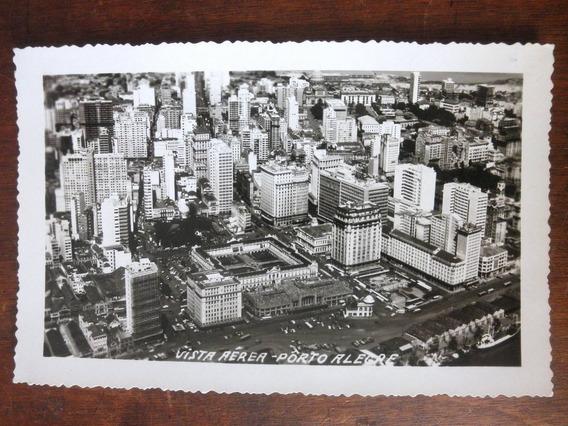 Antigo Cartão Postal - Vista Aérea - Porto Alegre Rs - 1960