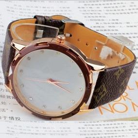 Relógio Lindissimo Da Moda Marrom - Pronta Entrega