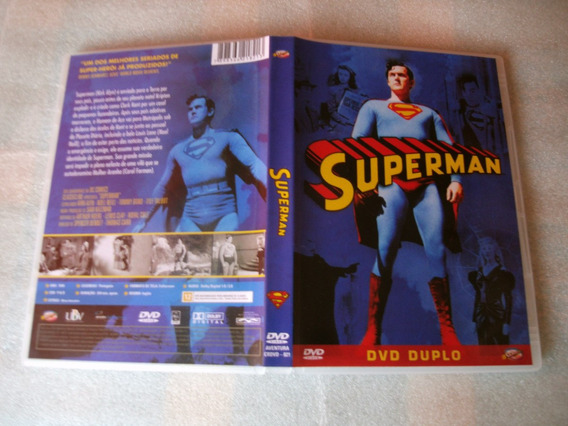 Dvd Duplo Superman (seriado Anos 40)