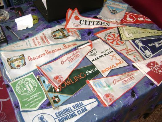 15 Banderines De Coleccion De Bowling 399 $¡vealos¡