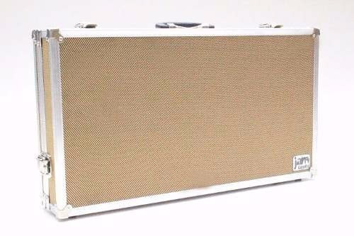 Case Tweed Fender Pedal Board Pedais Pedaleira 50x30x10