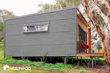 Cabañas Vivienda Casas Multipod Construcción En Seco